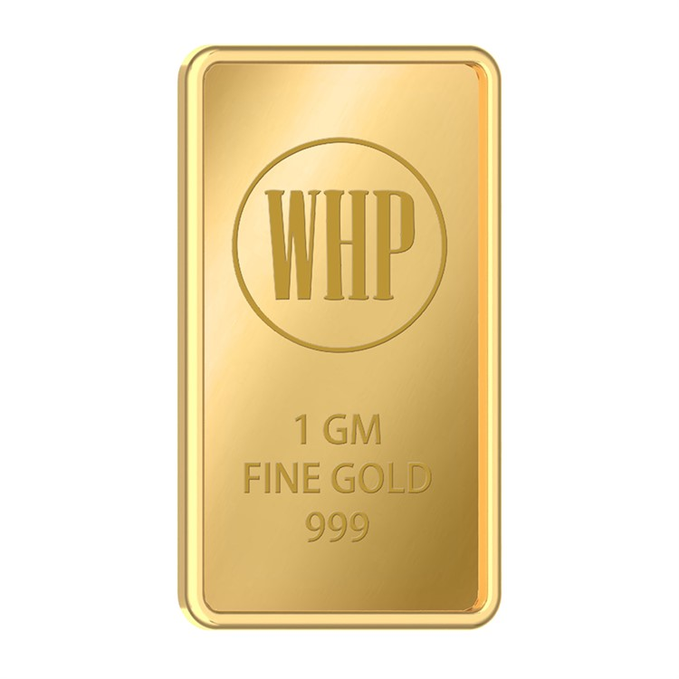 WHP Jewellers 24k (999) 1 gm Yellow Gold Coin